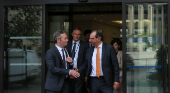 Visite du secrétaire d'État Jean-Baptiste Lemoyne à l'AEFE