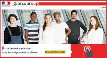 Admission dans l'enseignement supérieur français via Parcoursup: bilan d'étape positif pour les lycéens du réseau