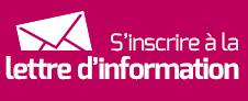 S'inscrire à la lettre d'information