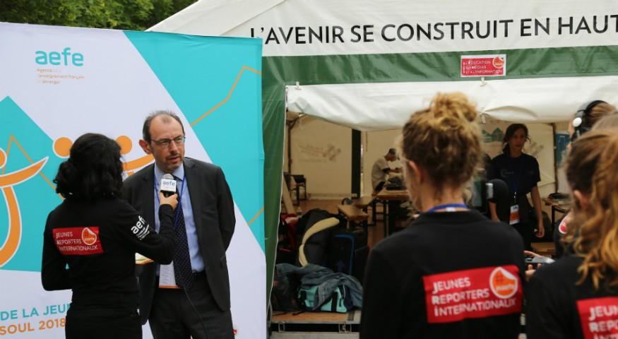 Les JRI AEFE et Christope Bouchard